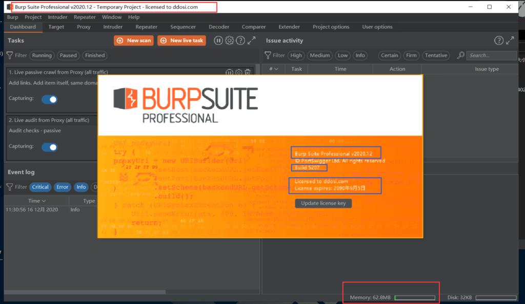 图片[3]-BurpSuite2020.12破解版下载 build5207 cracked-思安阁