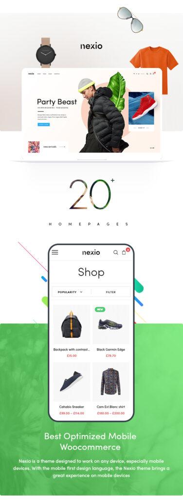 图片[1]-WordPress主题Nexio v1.0.7 时尚服装WooCommerce商店主题-思安阁
